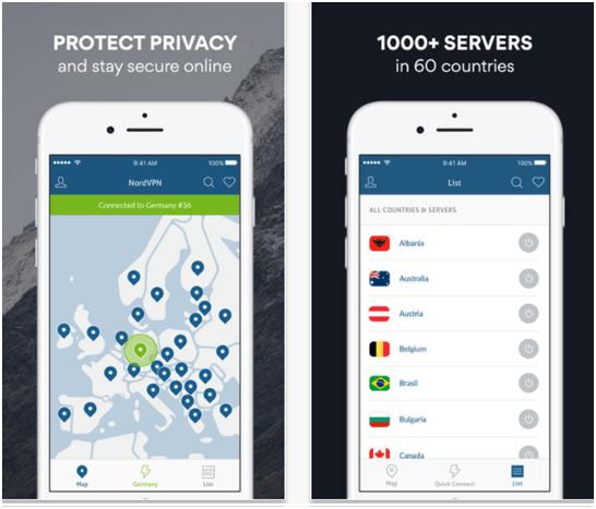 Nord VPN App