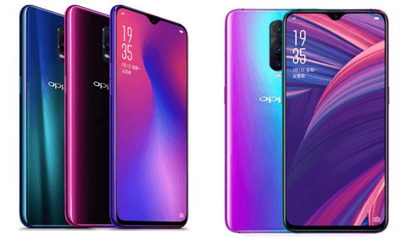 Oppo R 17 Pro phone