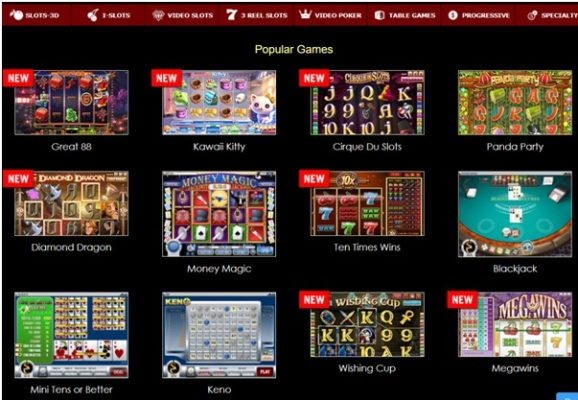 Other games at Superior Casino to play