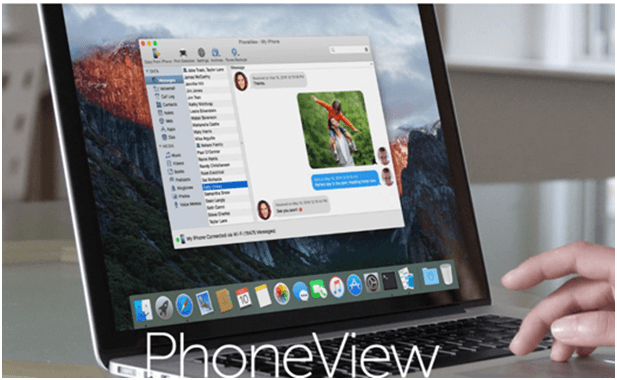 Phone View app