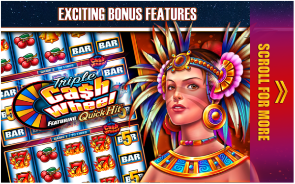 Bonus rounds, free spins and Jackpots are few of awesome features to find at Quick Hit pokies