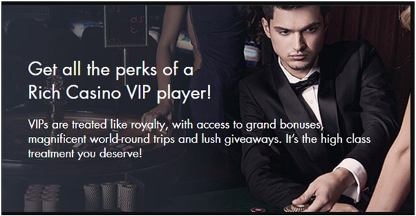What is maximum withdrawal from a free chip as a VIP player at Rich Casino