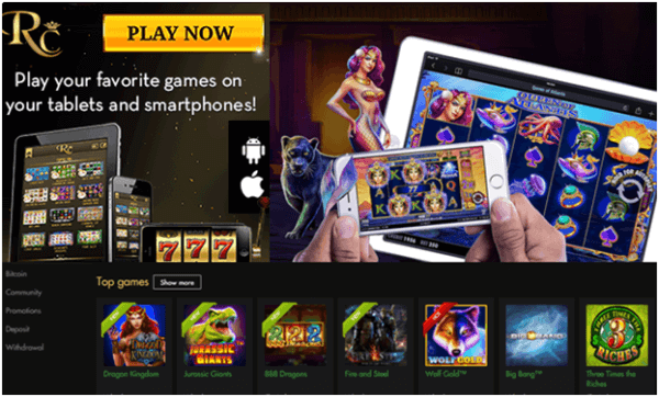 Can you play pokies at Rich Casino from Australia?