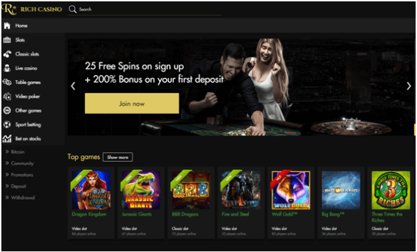Rich casino app bonuses