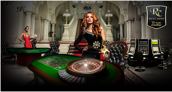 How to make a withdrawal at Rich Casino?