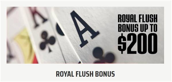 Royal Flush Bonus