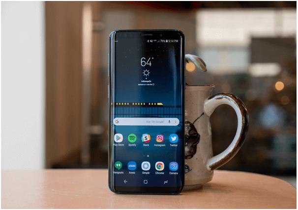 Samsung Galaxy S9 AU