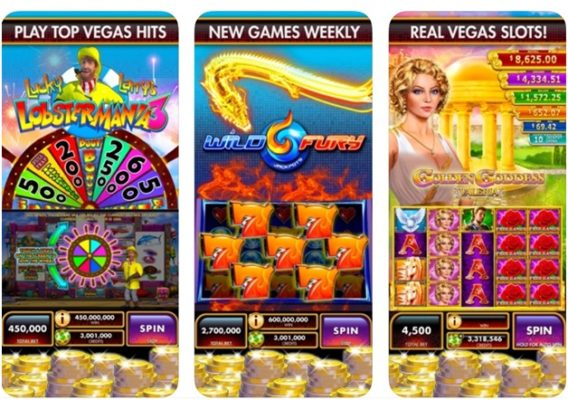 Features of Double Down Fort Knox iPhone casino app