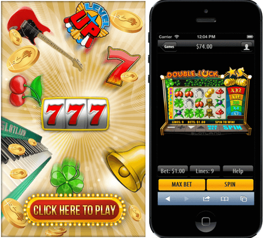 Slotland casino iPhone app