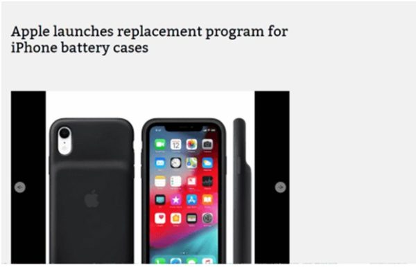 How does Apple replacement process work?