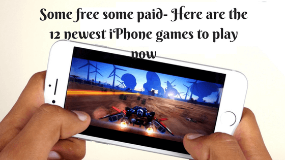 Some free some paid- Here are the 12 newest iPhone games to play now