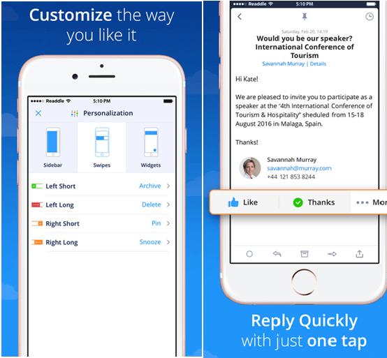 Spark App Features