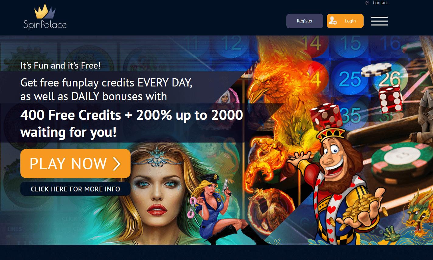 Spin Palace- free casino