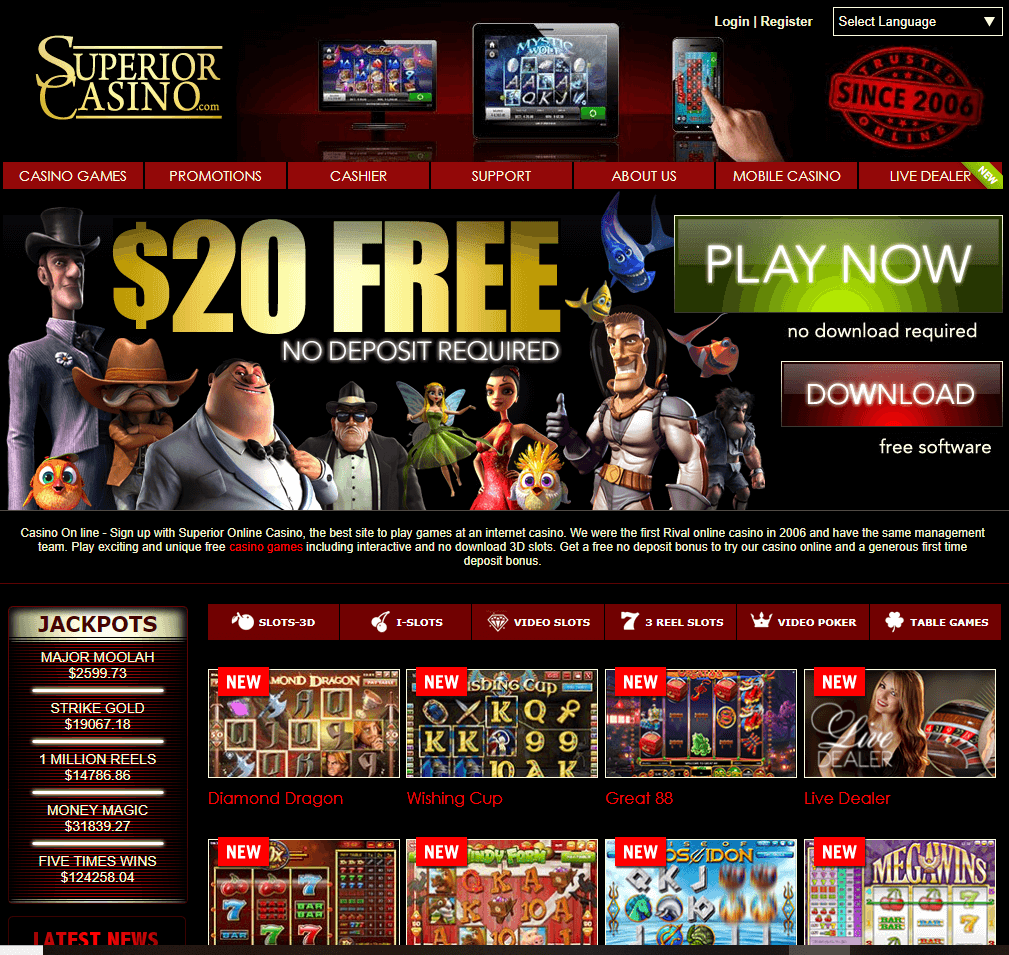 Superior casino mobile and download