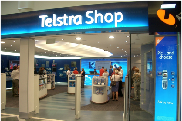 Telstra store Australia