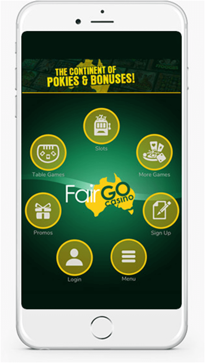 Fair Go Casino to play Pokies in AUD with iPhone