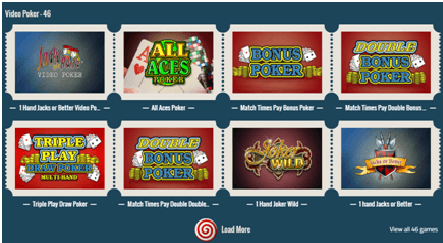 Thrills casino Video Poker Games