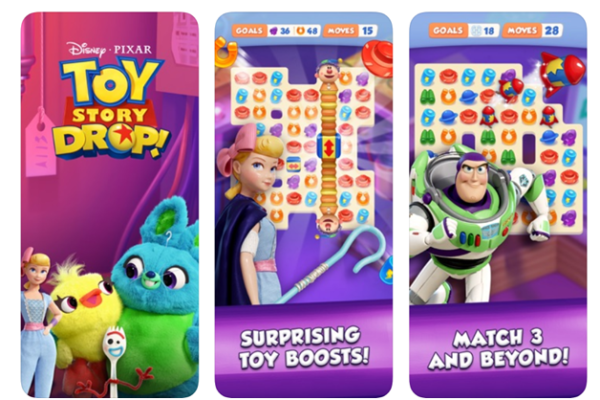 Toy Story Drop App