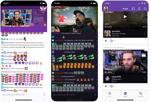 Twitch app