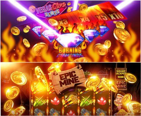 VIP bonus to grab at new casino game app at Vegas Live slots