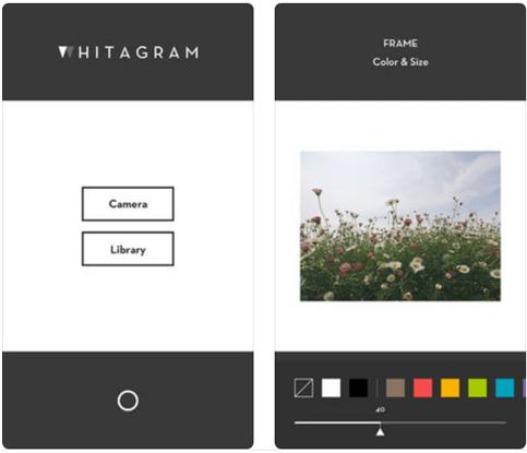 Whitagram app
