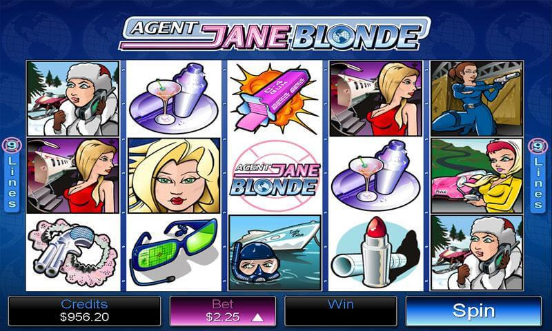 Agent Jane Blonde Pokies - Play Now