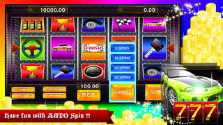 Autobahn Slot Machine PRO Spin the fortune wheel to win the grand prize