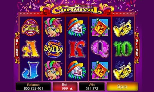 Carnaval Pokies - Click to Play