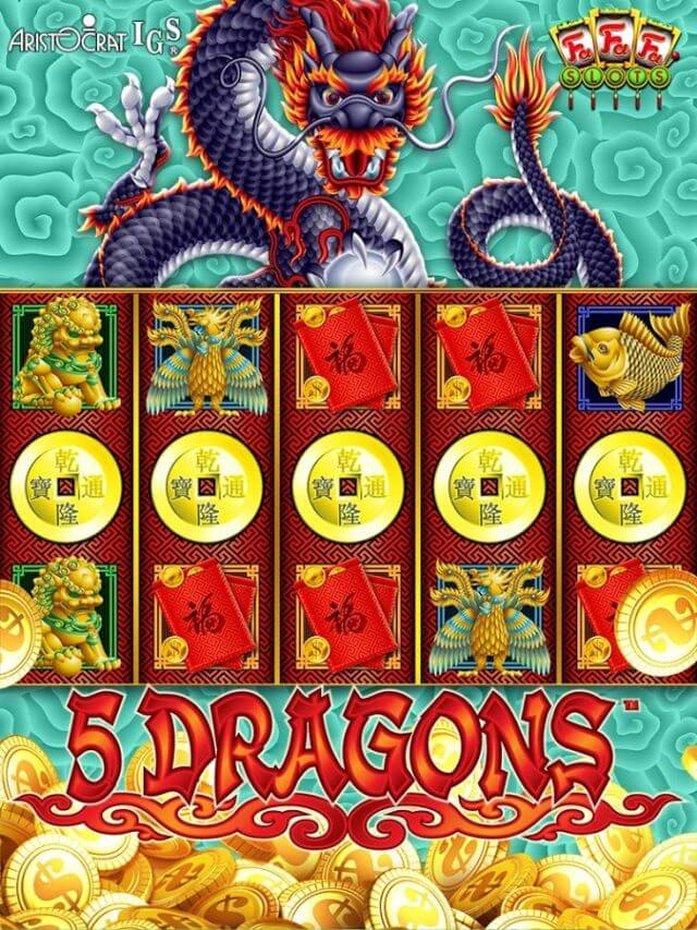 FaFaFa app 5 dragons iphone