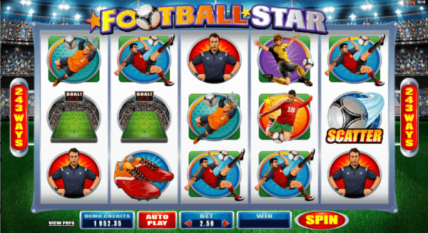 Football Star Pokies - Play Now