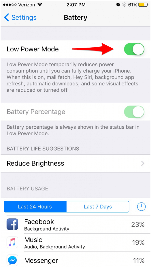 iOS 10 Battery fix