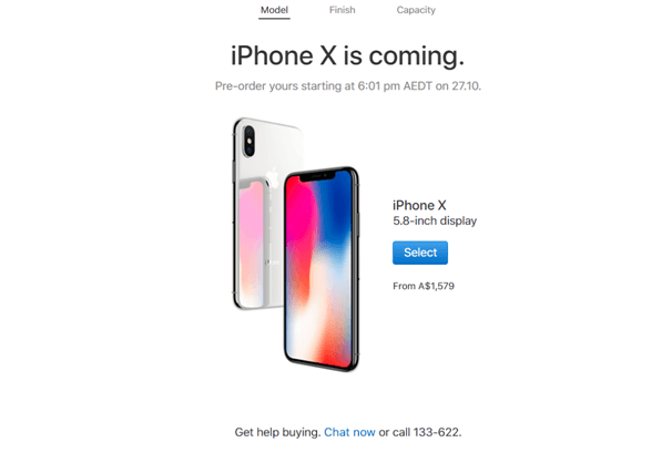 iPhone X Australia