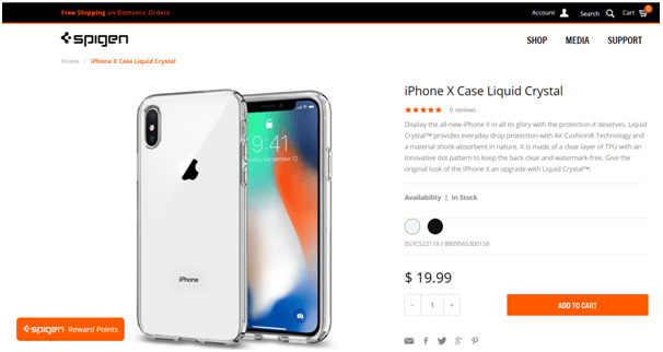 iPhone X cases- Spigen