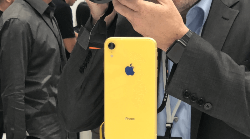 iPhone XR plans