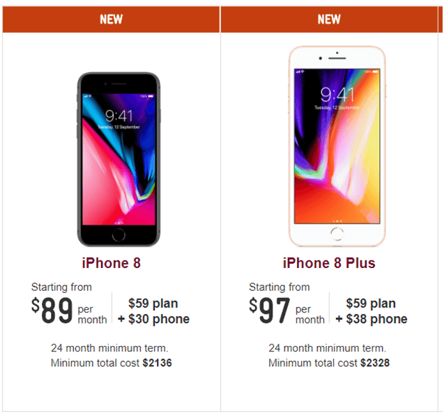iPhone plans Telstra