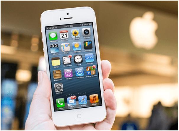 iPhone and smartphones