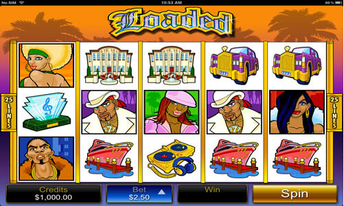Loaded Pokies for iPhone - Click to Play