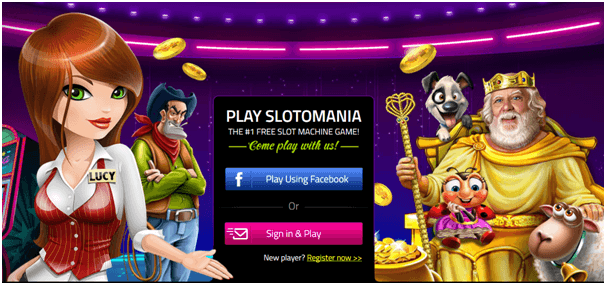 Play pokies with Slotomania app