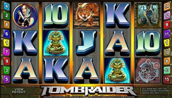 tomb raider pokies